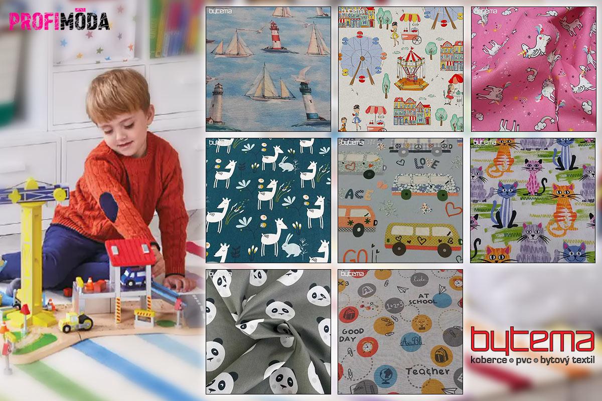 Oživte dětský pokojík textilem. Zcela změní interiér a je to i krásný nápad na vánoční dárek.