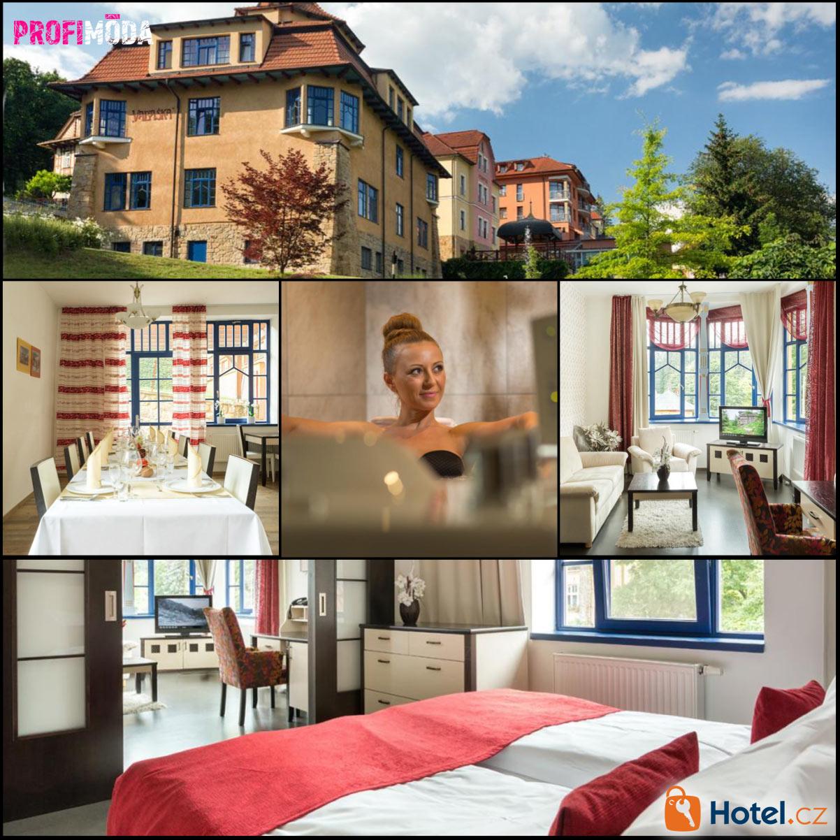 Luxury spa&wellness Vila Valaška je skvělé místo pro vaši dámskou jízdu.