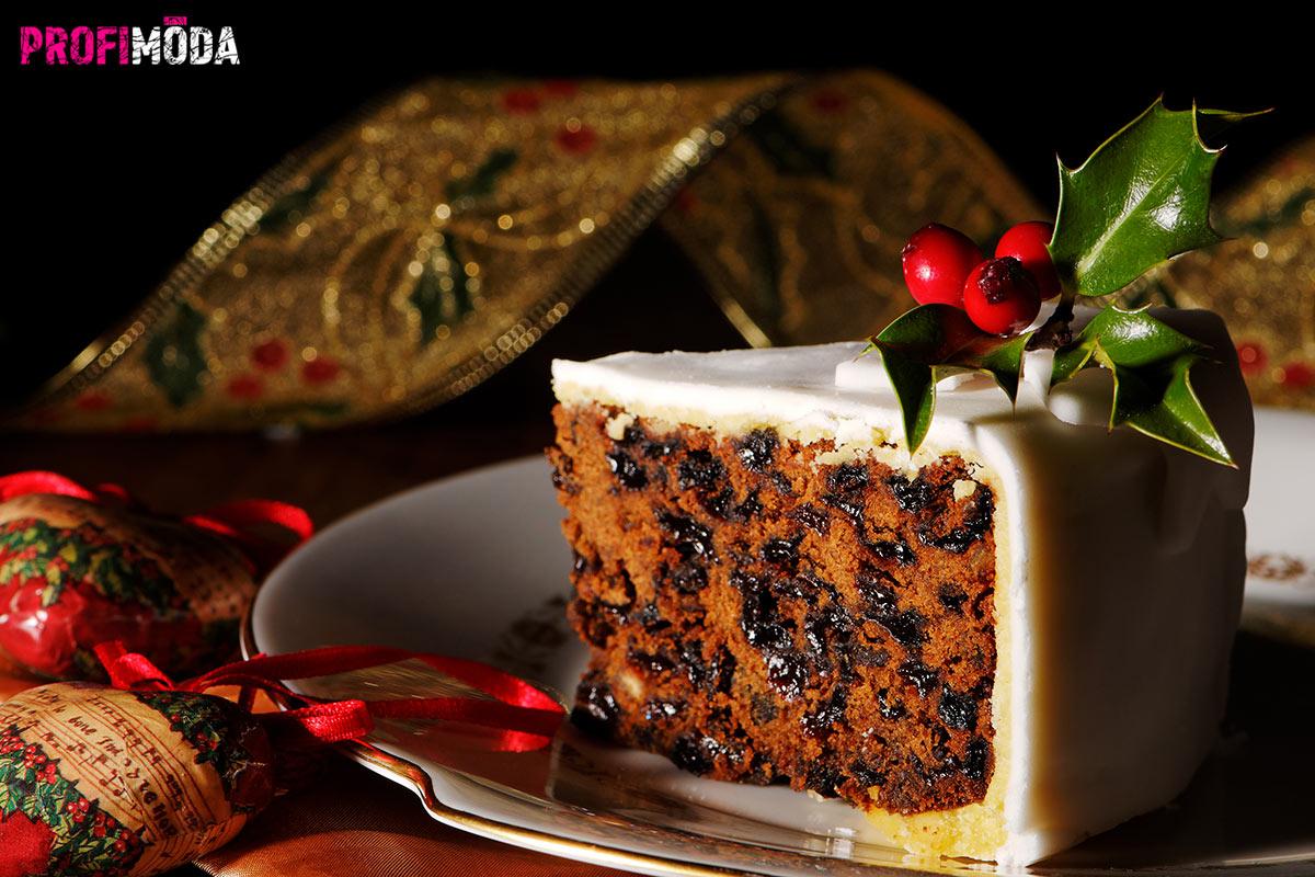 Trendy pro vánoční pečení 2020: Zkuste si místo vánočního cukroví připravit tradiční anglický vánoční dort.