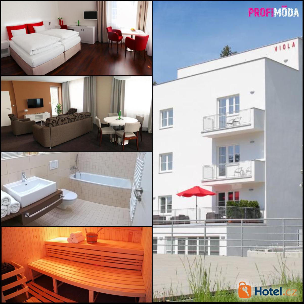 Užijte si krásu funkcionalismu. Hotel Vila Viola stojí ve slavné Bílé čtvrti v Luhačovicích.