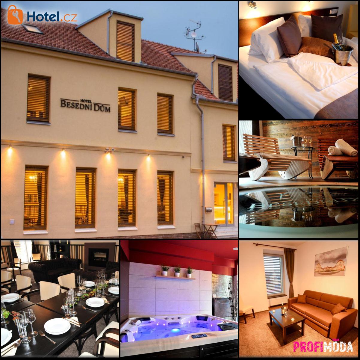 Dámská jízda 2020 ve Valticích – to může být i Hotel Besední dům.