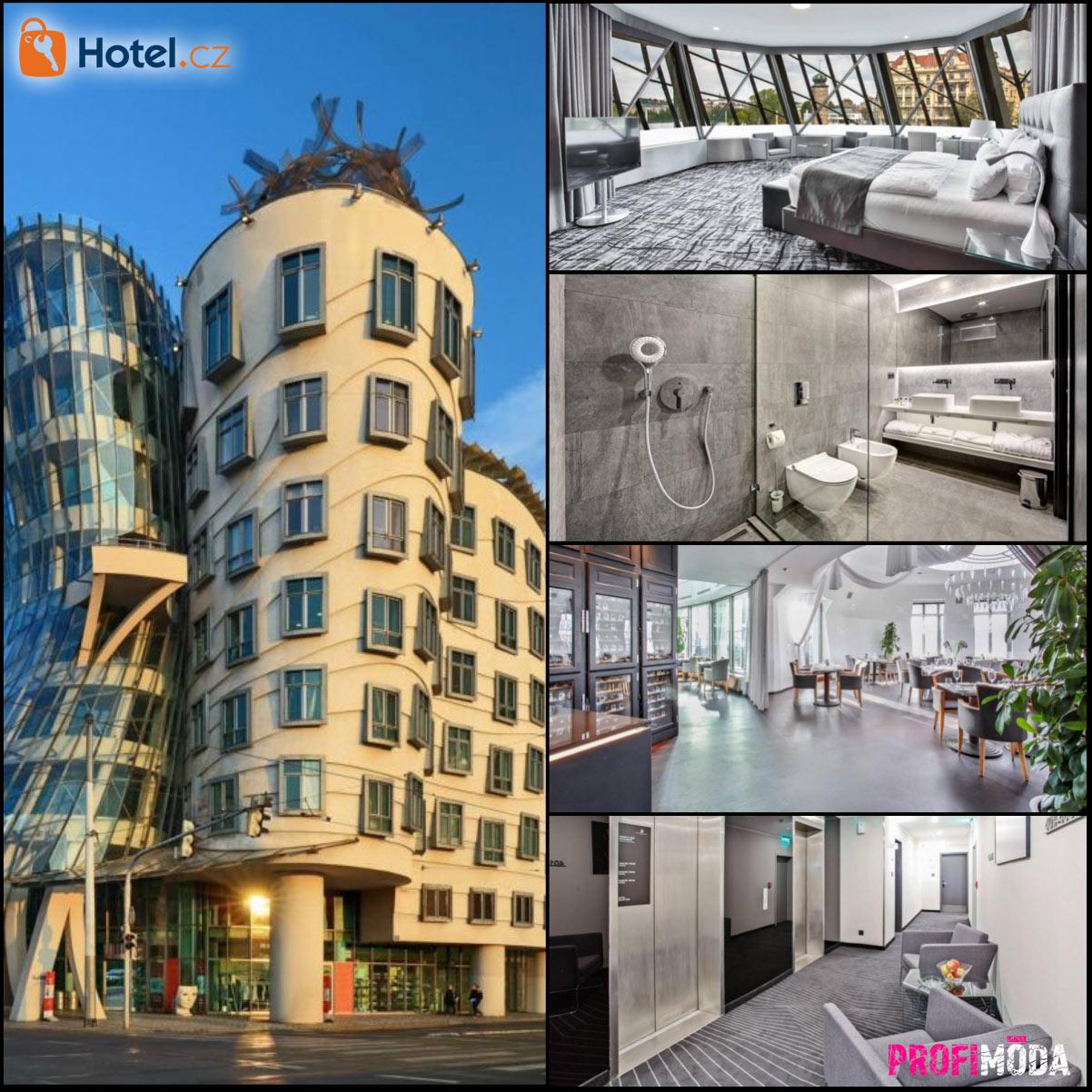 Dancing House hotel – to je skutečný pražský luxus.