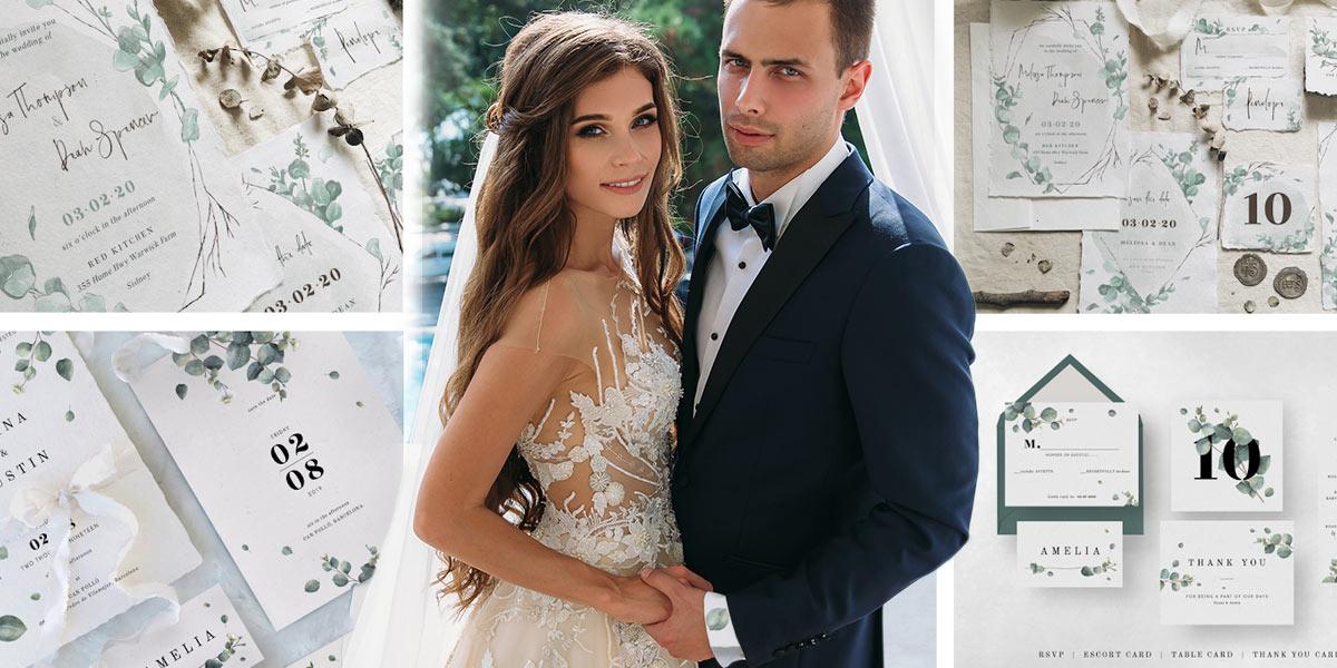 Základem je všechny svatební tiskoviny dokonale navzájem sladit. A ladit samozřejmě musí i se stylem svatby samotné.