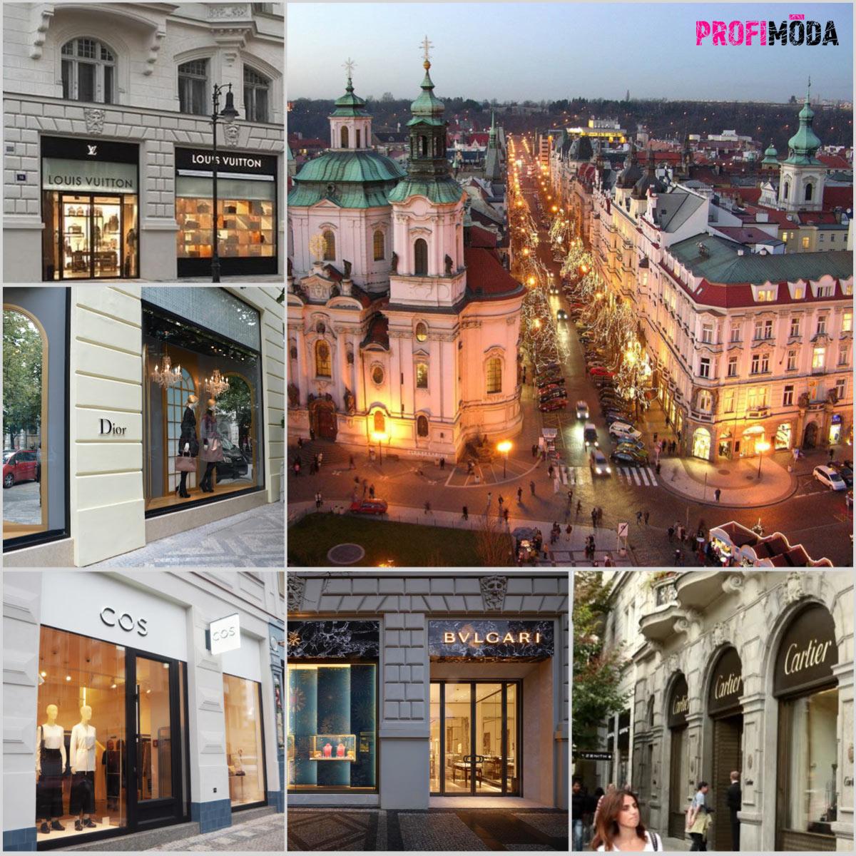 Pařížská ulice je srdcem luxusu v Praze.
