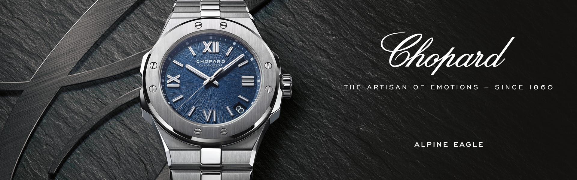 Luxusní hodinky Chopard.