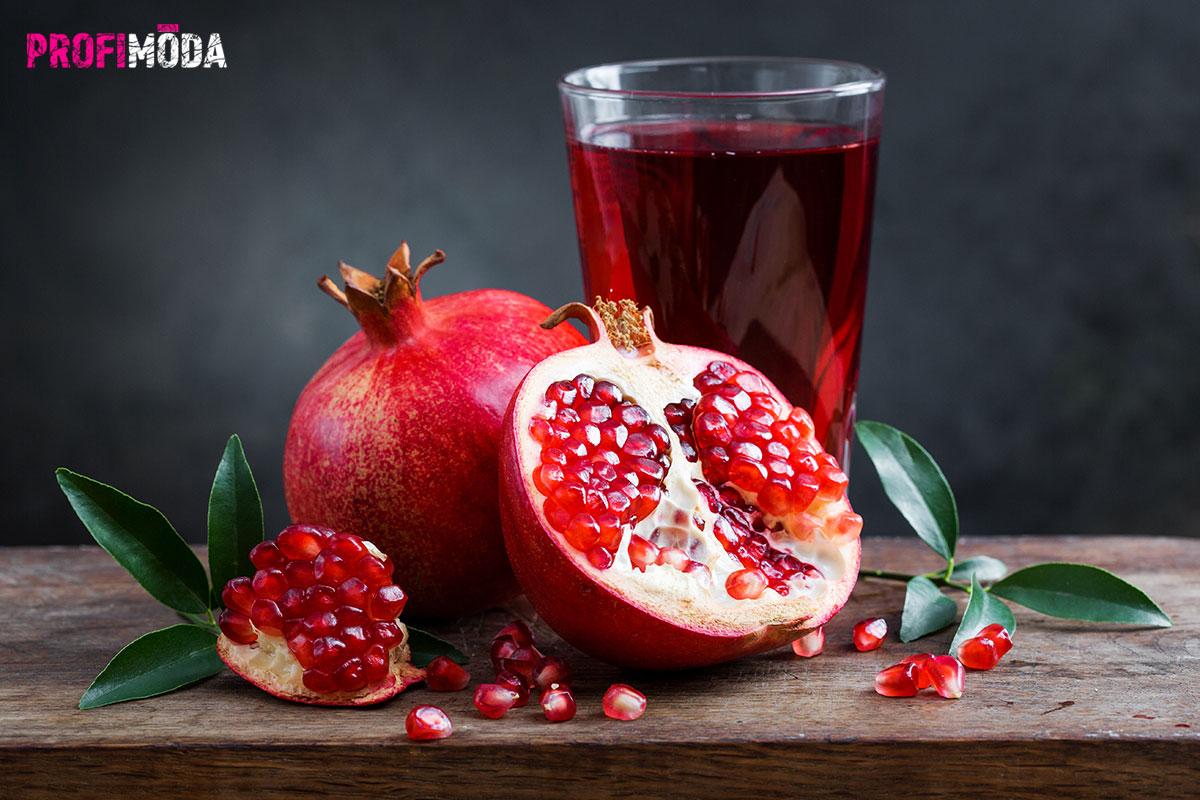 Granátové jablko je známé svými silnými antioxidačními účinky.