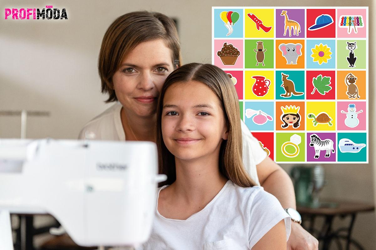Šicí stroj patří mezi nejdůležitější kreativní pomůcky. Pojďte nejmladším dětem ušít třeba pexeso a do tvoření zapojte starší děti. Zabavíte se celá rodina. Kvalitní šicí stroje nabízí Brother.