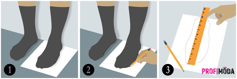 Nakupujete boty online? Naučte se právně změřit vaši velikost nohy.