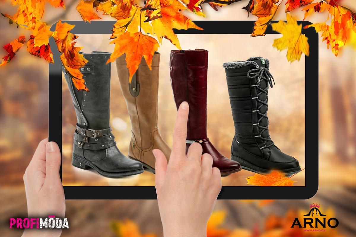 Právě nyní je čas vhodný na nákup zimní obuvi.