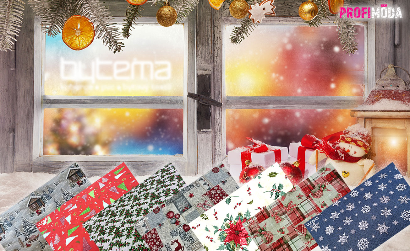Pravou vánoční atmosféru dávají Vánocům látky. Dají se použít na cokoliv – na dekoraci, na šité dárky, ale dokonce i na jejich balení či zdobení.