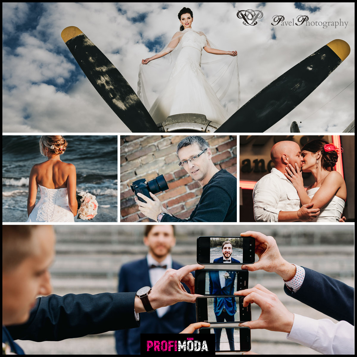 Fotograf Pavel Vávra má zkušenosti s focení, včetně svateb, nejen v ČR, ale i ze zahraničí. Jeho fotografie ze svatby mají úspěch.
