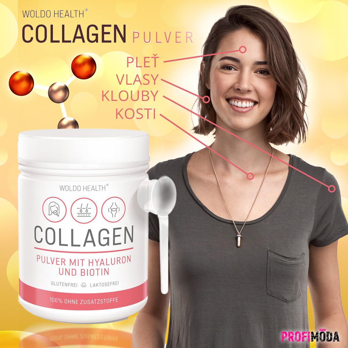 Kolagen s kyselinou hyaluronovou a biotinem – to je ideální anti-ageing kombinace.