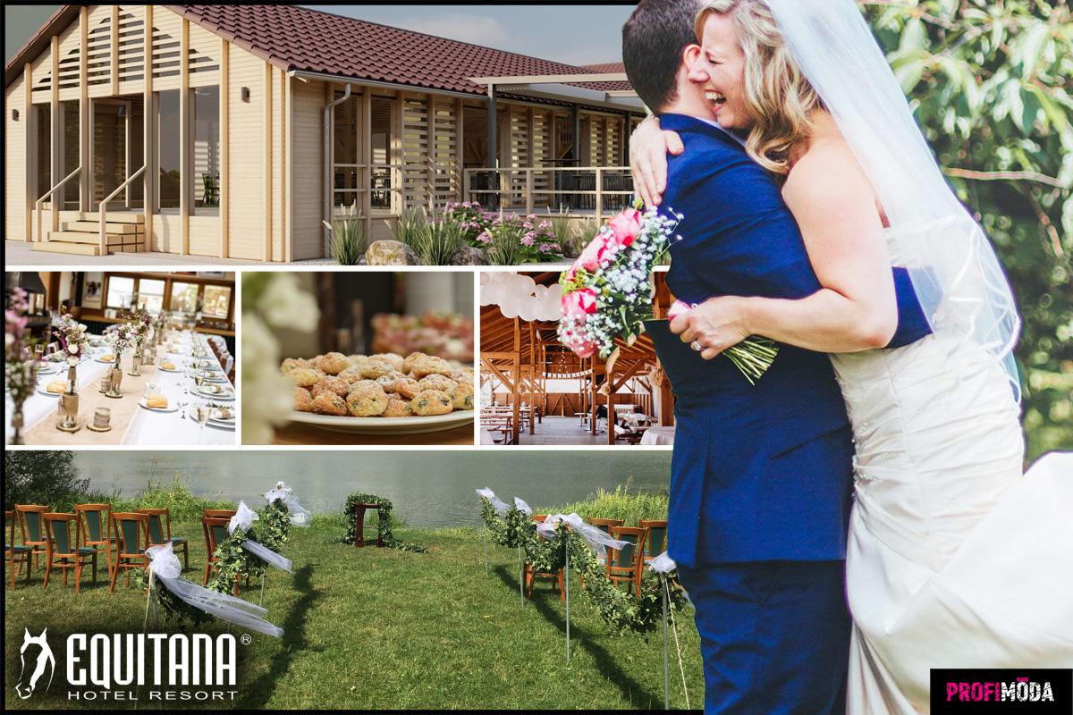 Jak na nezapomenutelný svatební obřad? Zažijte svatbu snů v hotelu Equitana.